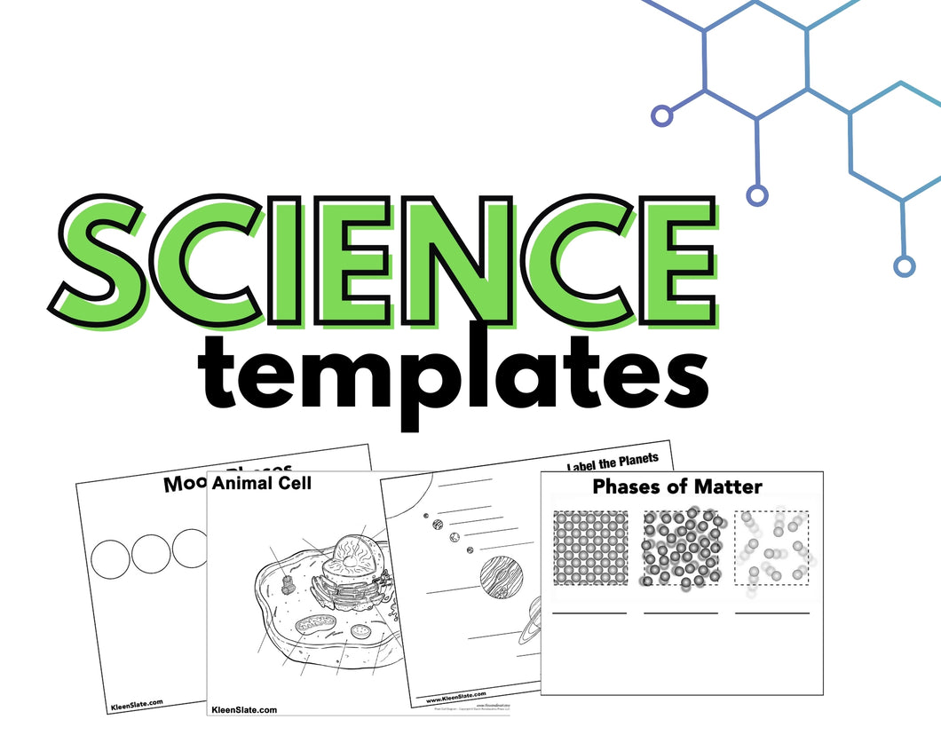 12 Science Templates