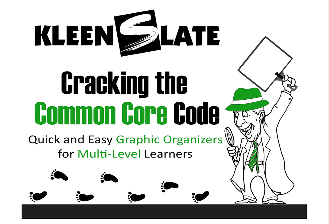Cracking the Common Core Template Book