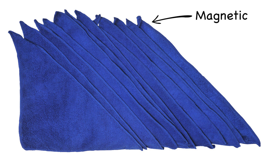 (10) Magnetic Microfiber Cloths