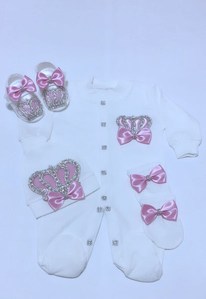 4 Pieces Princess Set pink