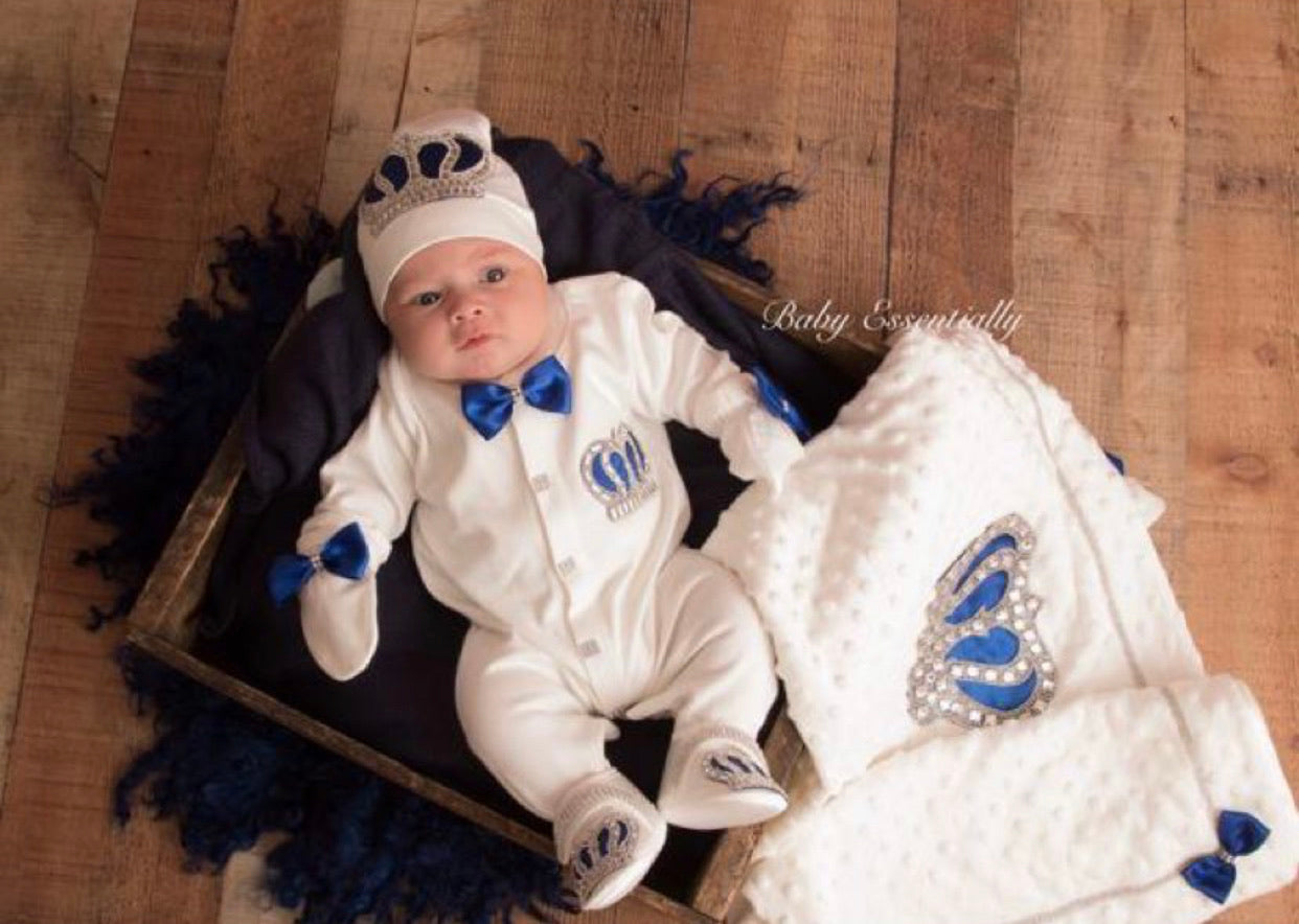 5 Pieces Prince Set Royal Blue