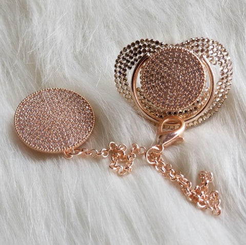 Blinged Out Set Rose Gold