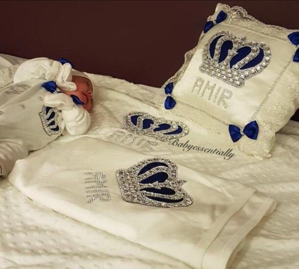 7 Pieces Prince Set Royal Blue