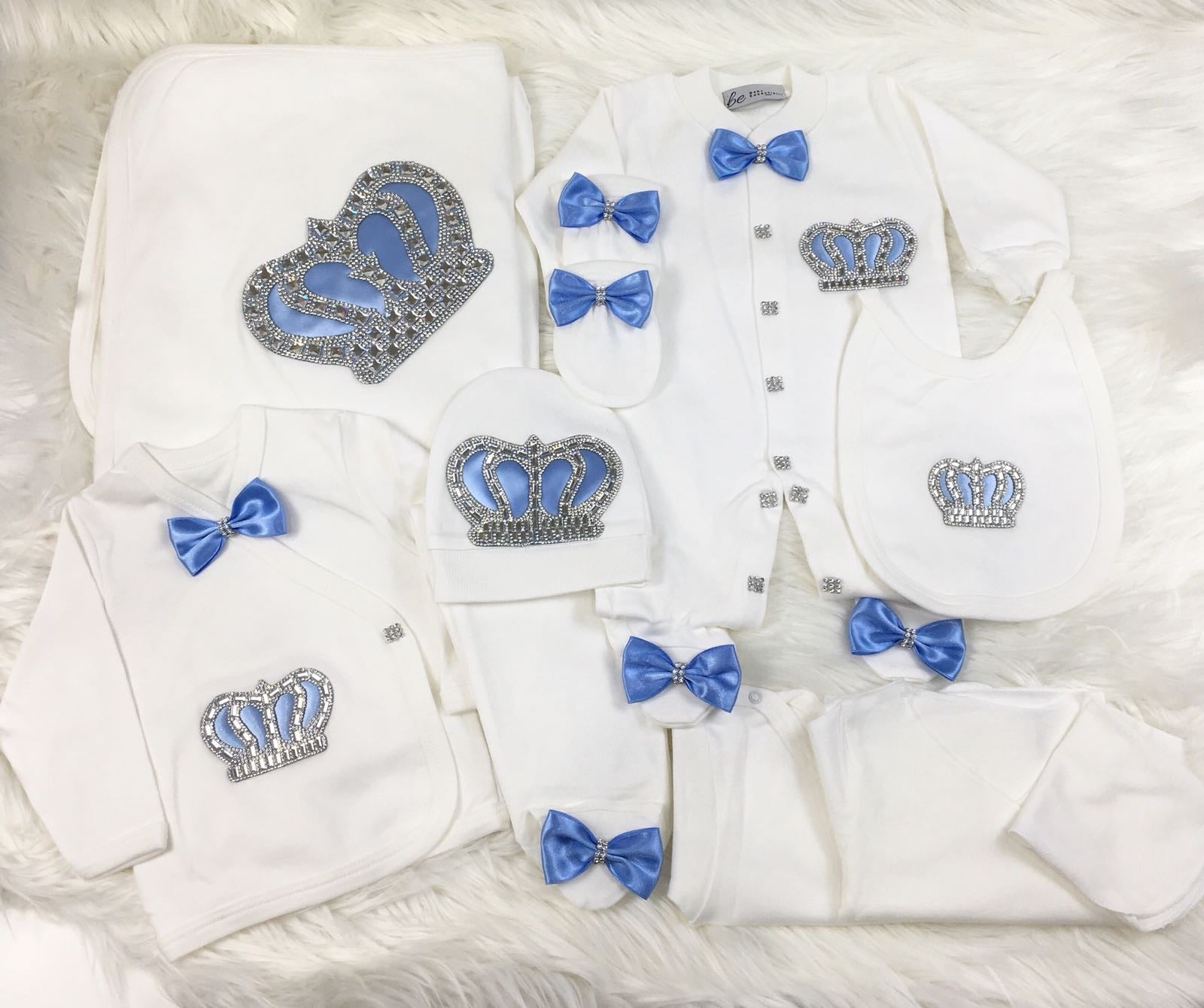 10 Pieces Prince Set Baby Blue