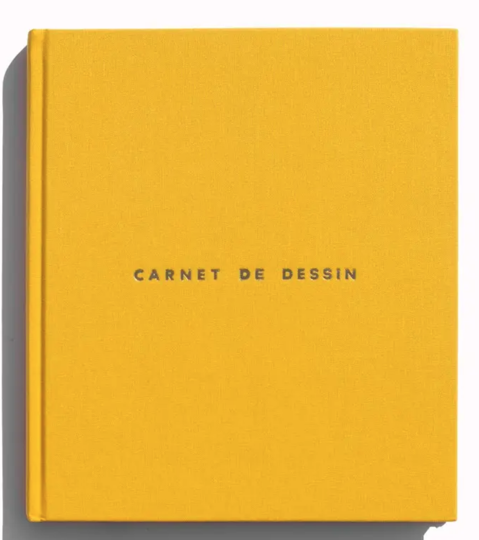 Carnet De Dessin Notebook