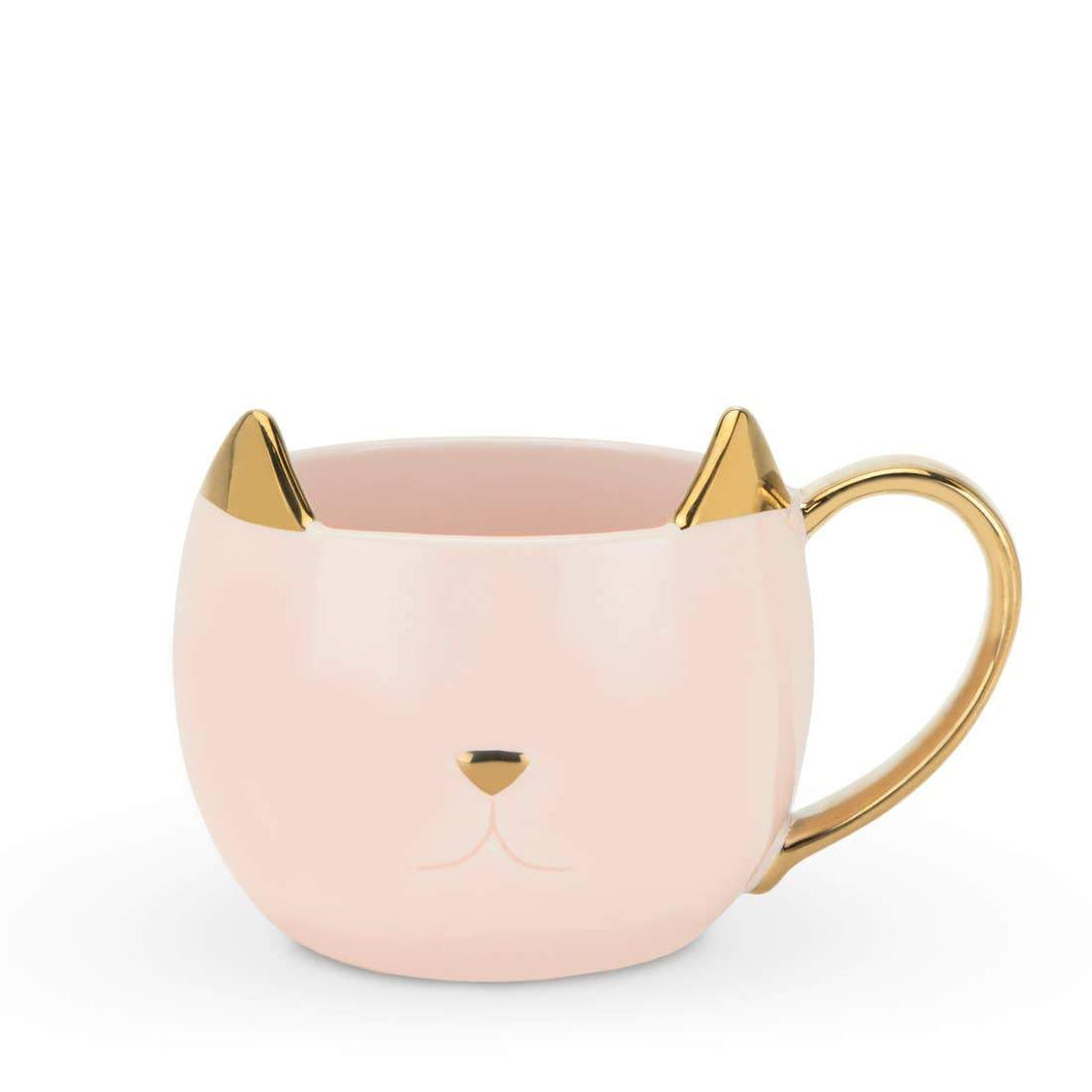 Chloe™ Cat Mug by Pinky Up®- Pink