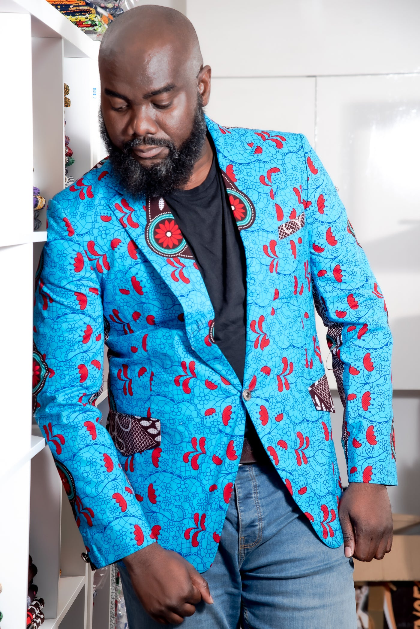 Ankara Blazer for Men