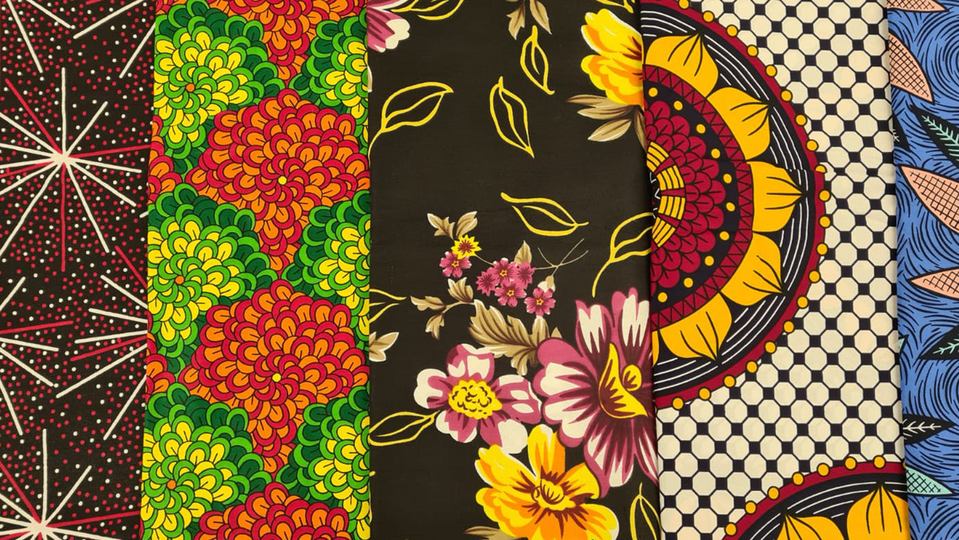 Shop African Print fabrics online. High quality Ankara fabrics for all occassions.