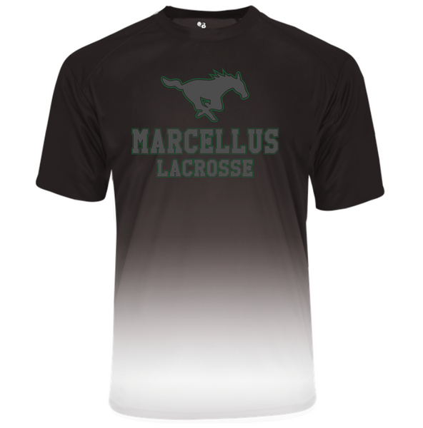 Marcellus Lacrosse Ombre Tee
