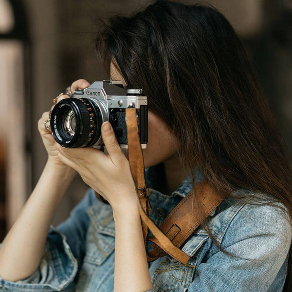 A Sturdy, High-Quality Leather Camera Strap To Keep Your Equipment Safe
