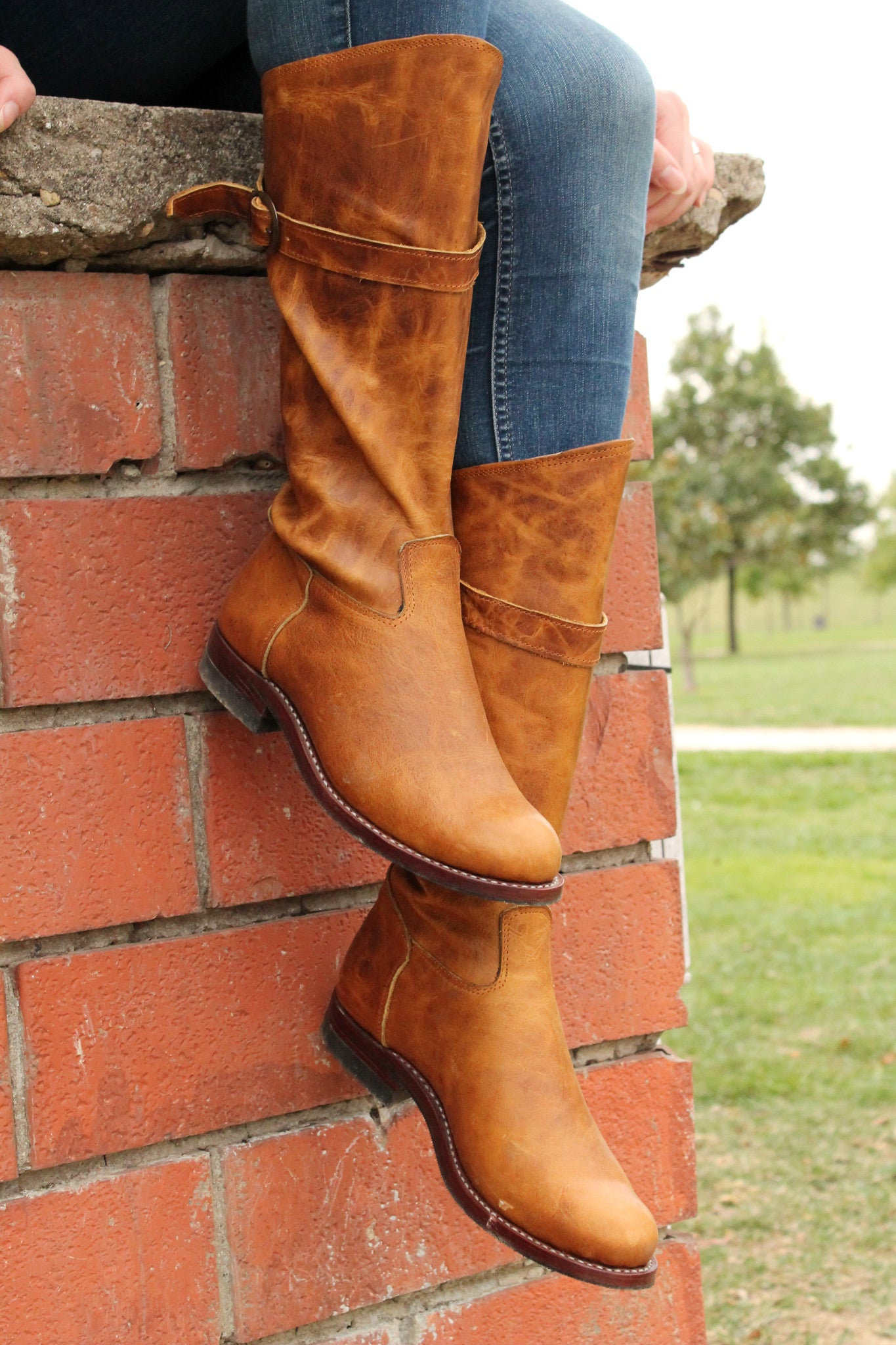 Handmade Tall Women's Boots