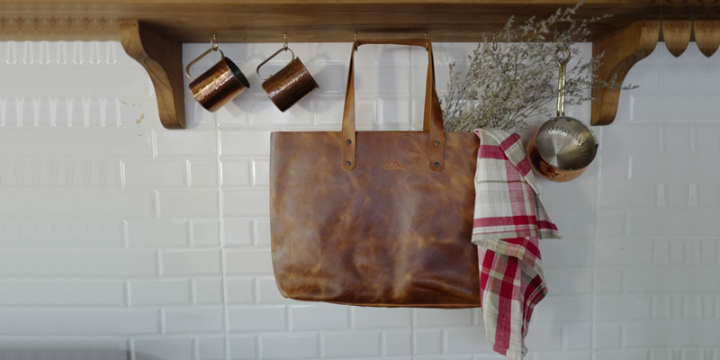Handmade Leather Tote Bags