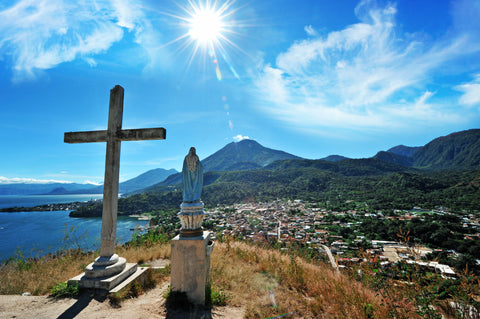 lake atitlan cross