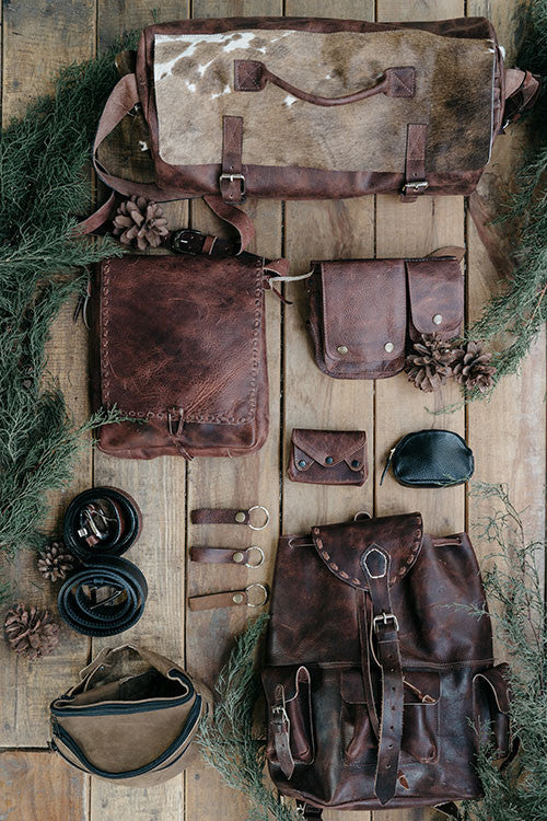 Handmade leather goods