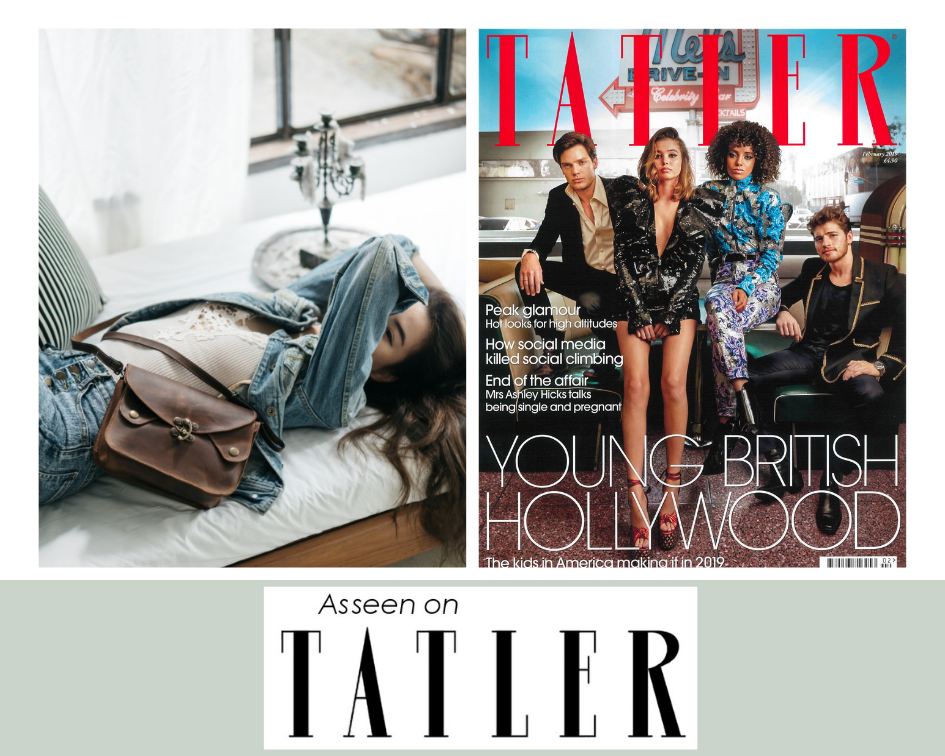 As Seen on Tatler | Atitlan Leather