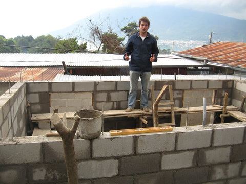 Volunteer on Lake Atitlan
