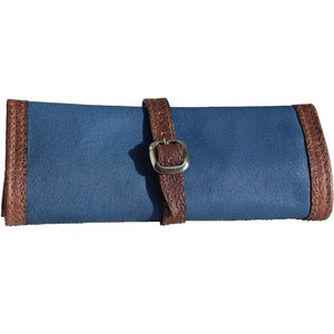Leather Jewelry Travel Roll - Atitlan Leather