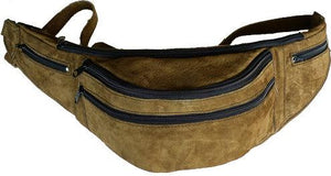 Brown Leather Fanny Pack - Atitlan Leather