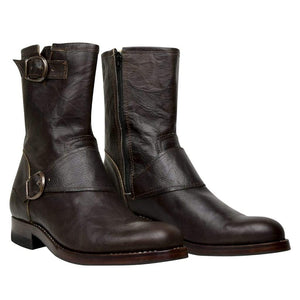 Custom Biker Boots - Atitlan Leather