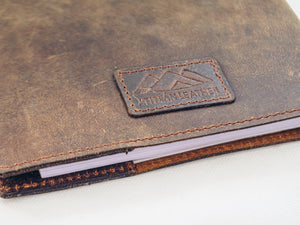 Brown Leather Travel Journal - Atitlan Leather