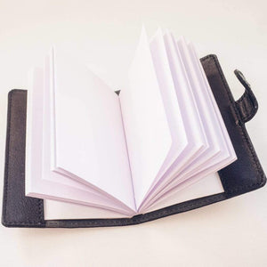 Small Black Pocket Journal - Atitlan Leather
