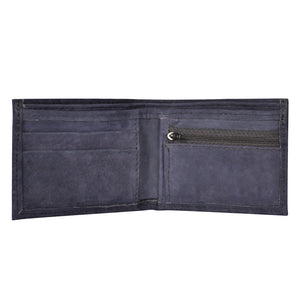 Mens Leather Wallet with Coin Pocket - Atitlan Leather