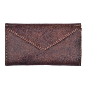 Women's Trifold Leather Wallet - Atitlan Leather