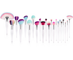 Unique Pearl - Rainbow Makeup Brushes (22 Piece)
