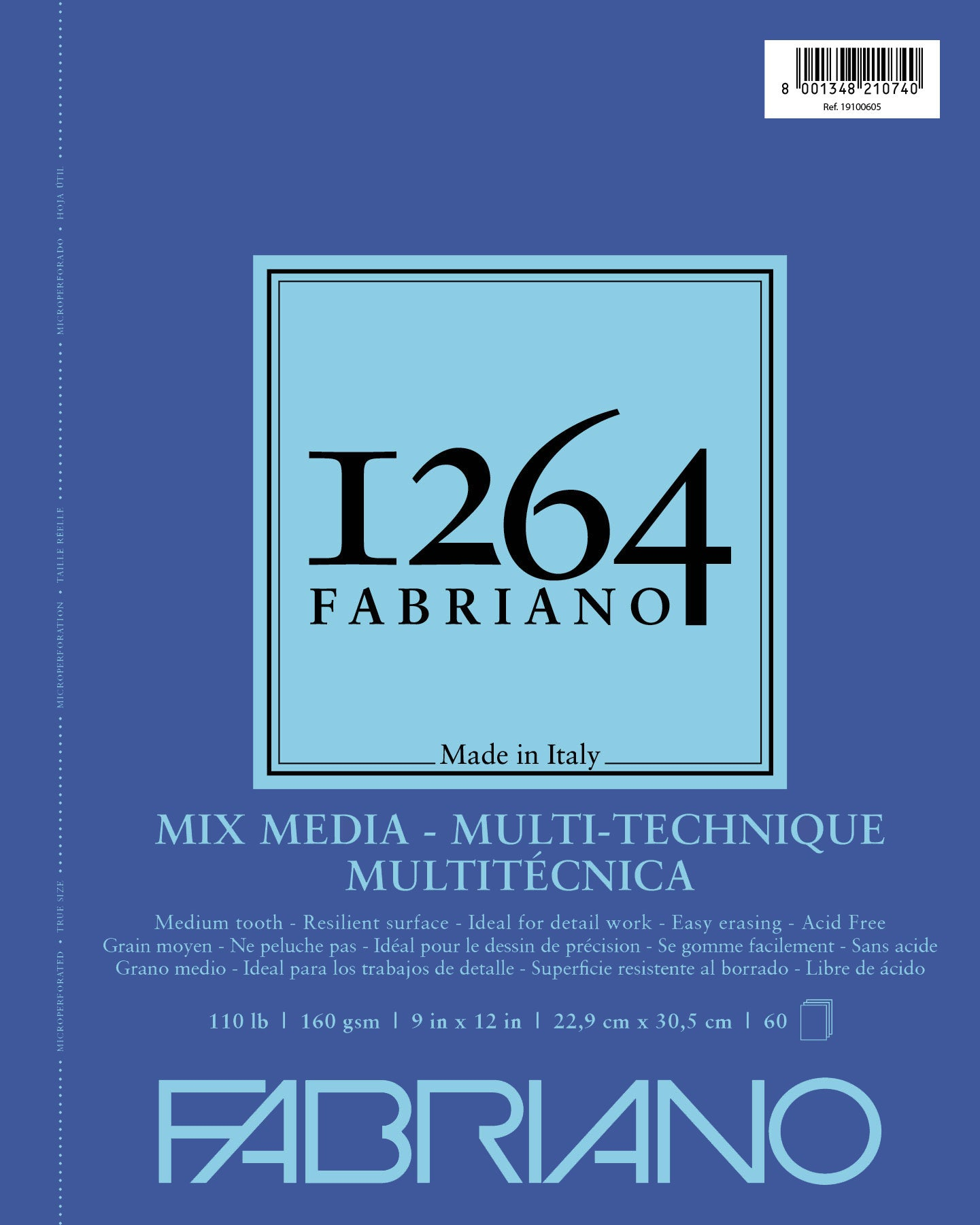 Fabriano 1264 Mixed Media Pad