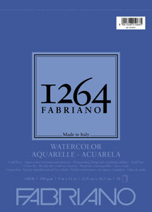 Fabriano 1264 Watercolor Pad