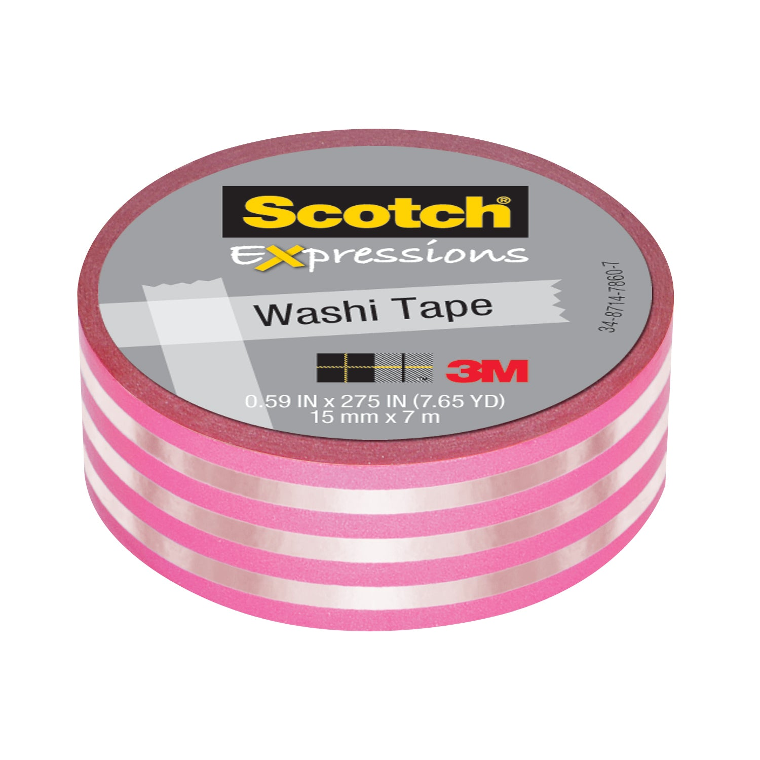 3M Expressions Washi Tape