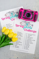 Spring Scavenger Hunt Game for Kids