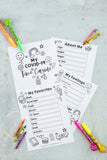 2021 Time Capsule for Kids Worksheets