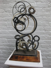 Rebbecca (2000) - abstract sculpture by Linus Coraggio
