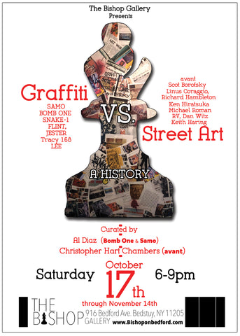 Graffiti vs Street Art: A History