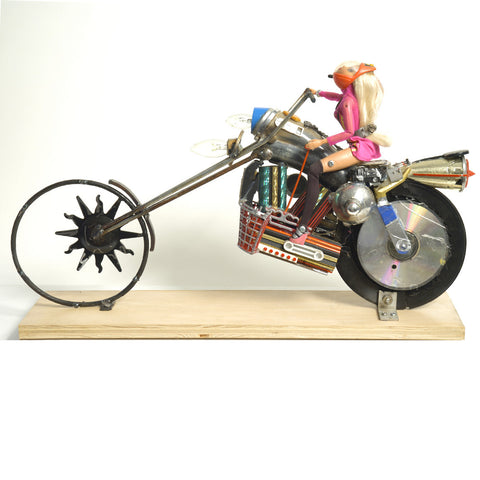 """Barbie Blaster"" Chopper"