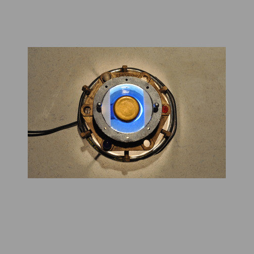 """Blue Porthole"" Wall Sconce"