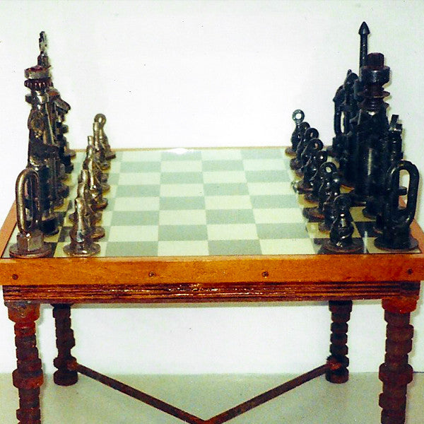 """Crane Pin"" Chess Set"