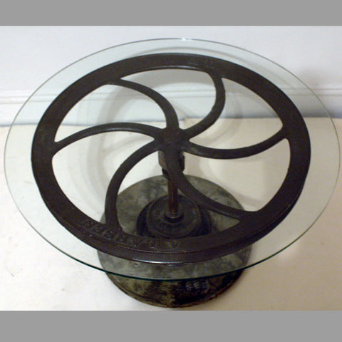 """Elevator Wheel"" Table"