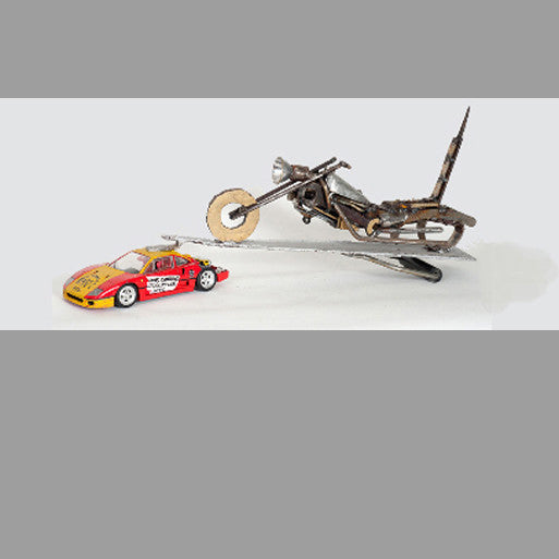 """Ferrari-Towed Chopper"""