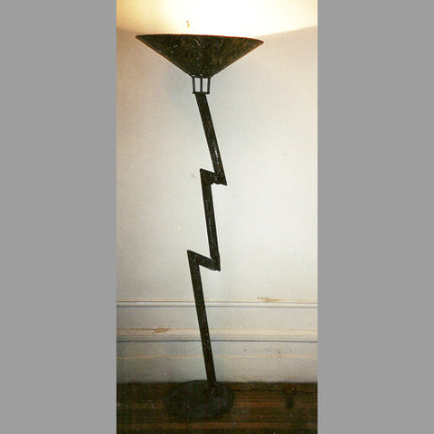 """Lightning Bolt"" Floor Lamp"