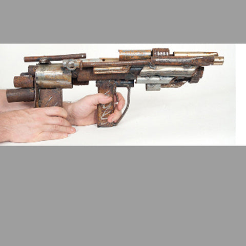 """Multi-Barrel Machine"" Ray Gun"