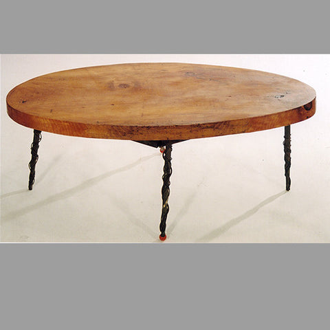 """Oval Wood"" Coffee Table"