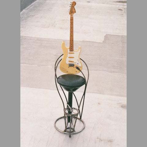 """White Strat"" Bar Stool"
