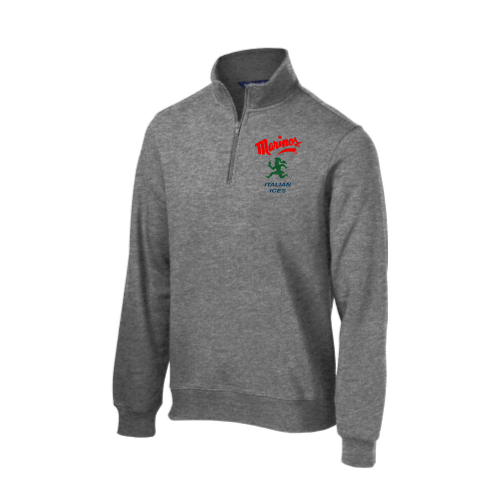 NEW! Marinos Italian Ice Quarter Zip Sweatshirt