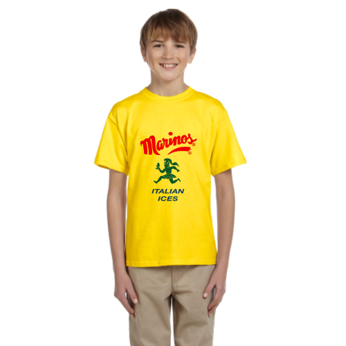 Youth Classic Yellow Olympic Torchbearer T-shirt
