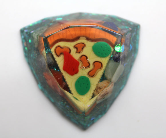 Pizza and Rocks! Spectrum Harmonizer Re tune your environment Balance the minor key harmony at Home Funky Food Random! Sparkly Blue Glitter