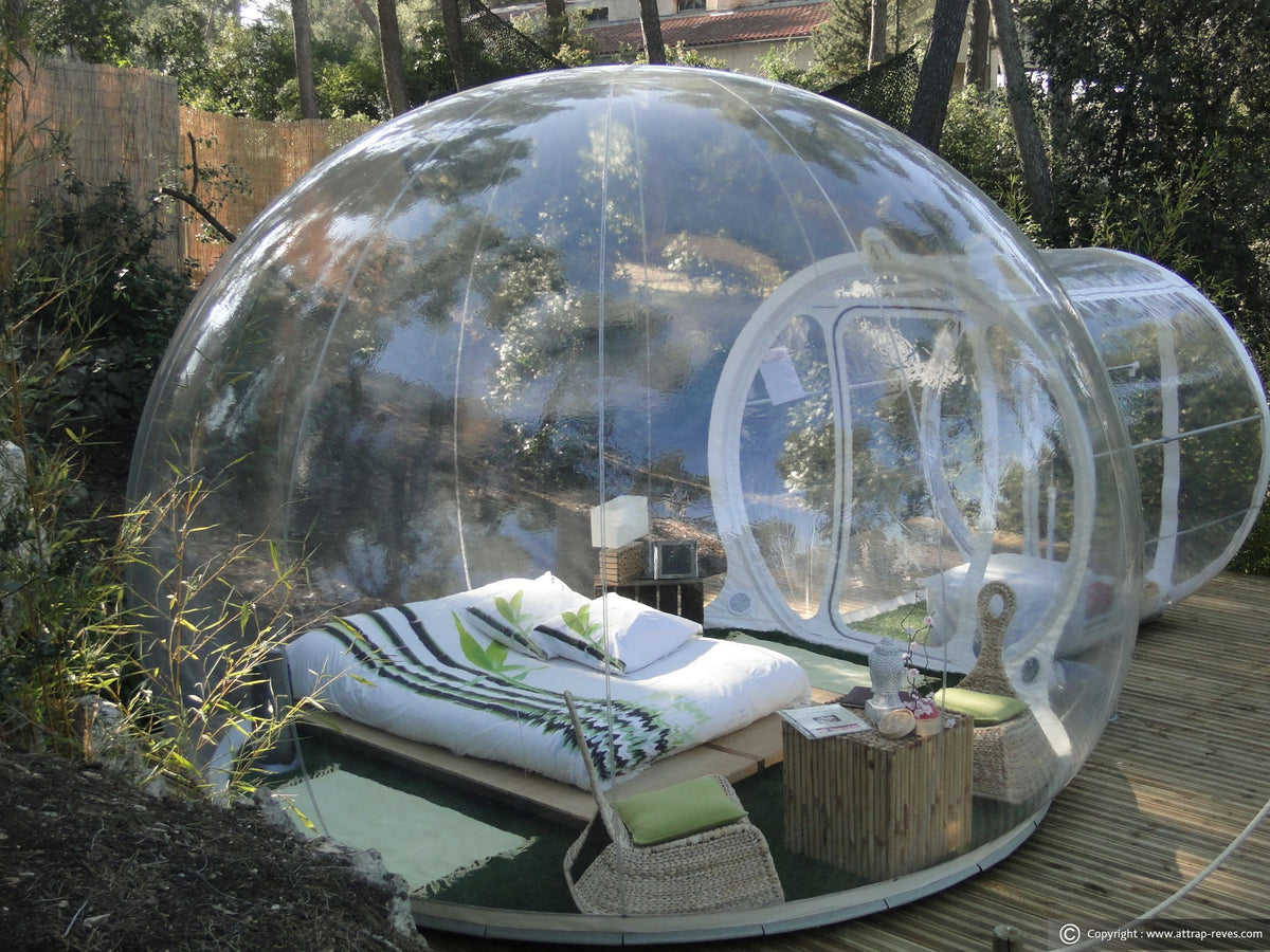 Transparent Inflatable Outdoor Bubble Dome and Tent | StarDomes