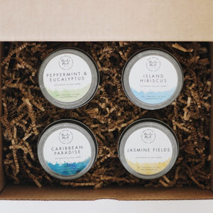 Baitx Made 4 oz Soy Wax Candle Set