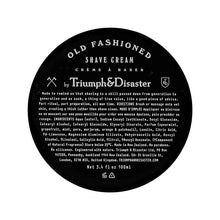 Load image into Gallery viewer, Triumph & Disaster Shave Cream Jar 100ml